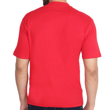 Branded Cotton Slim Fit Tshirt_Frcr10 - Red