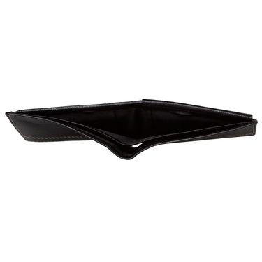 Spire Stylish Leather Wallet For Men_Smw105 - Black