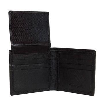 Spire Stylish Leather Wallet For Men_Smw112 - Black