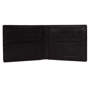 Spire Stylish Leather Wallet For Men_Smw150 - Black