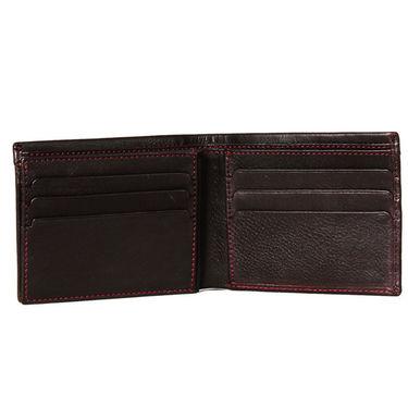 Spire Stylish Leather Wallet For Men_Smw160 - Black