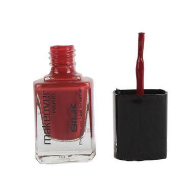Makeover Professional Premium Nail Enamel - Red Brown