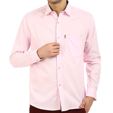 Pack of 5 Fizzaro Plain 100% Cotton Casual Shirts_Plcs012345