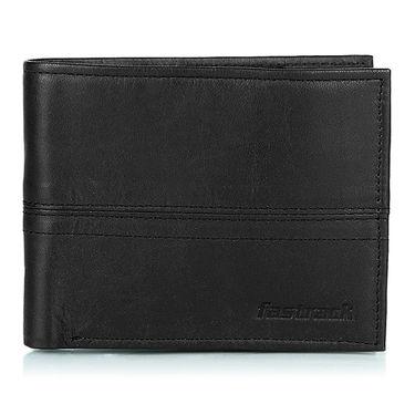Fastrack Leather Wallets For Men_C0327lbk02 - Black