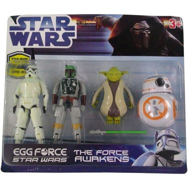 Egg Force Star Wars Super Hero Action Figure Set-2