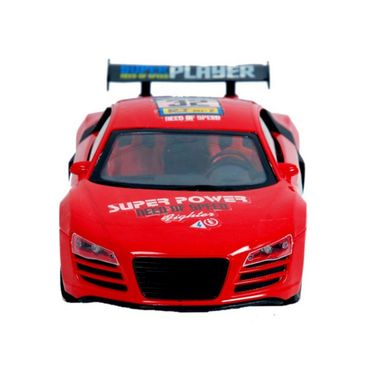 Red Furious 5 Fully Loaded Gravity Sensor Car With Steering Wheel RC