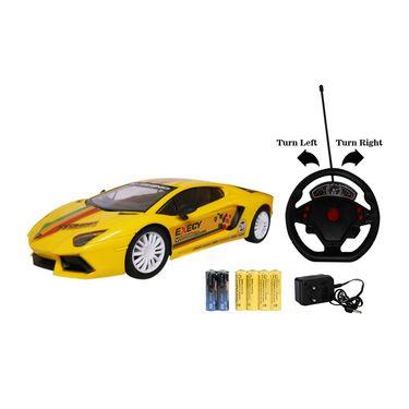 Steering Wheel Remote Control Racing Furious5 Gravity Yellow Sensor Car