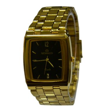 Branded Square Dial Analog Wrist Watch For Men_2305sm03 - Black