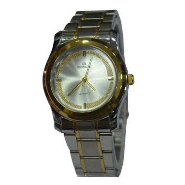 Branded Round Dial Analog Wrist Watch For Women_1403sm04 - Silver