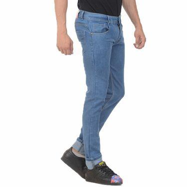 Plain Slim Fit Denim Jeans_Jnvgn2 - Light Blue