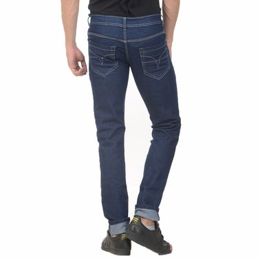 Plain Slim Fit Denim Jeans_Jnvgn3 - Denim Blue