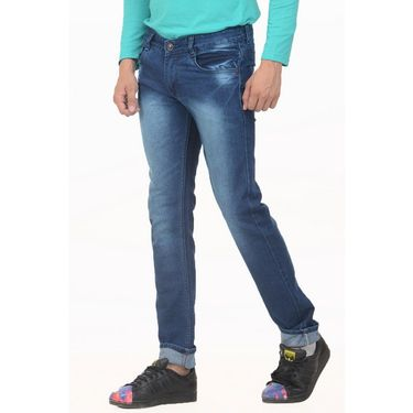 Forest Faded Slim Fit Denim Jeans_Jnfrt9 - Blue