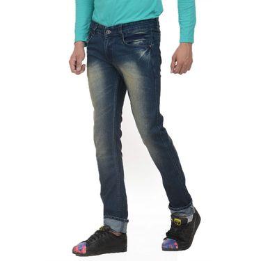 Forest Faded Slim Fit Denim Jeans_Jnfrt14 - Blue