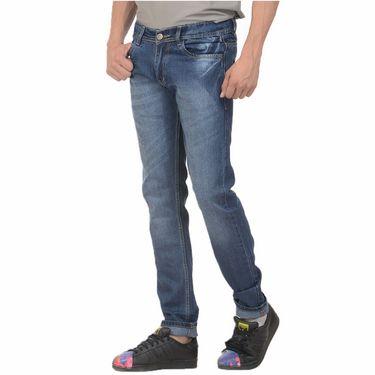 Pack of 2 Forest Plain Slim Fit Jeans_Jnfrt36 - Blue