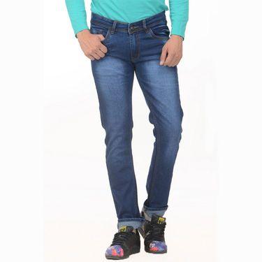 Pack of 2 Forest Plain Slim Fit Jeans_Jnfrt78 - Blue