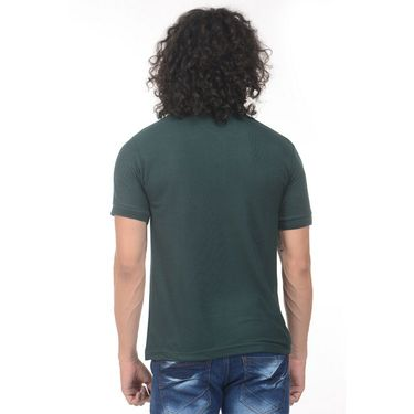 Pack of 2 Plain Regular Fit Tshirts_Ptgdgp - Green & Pink