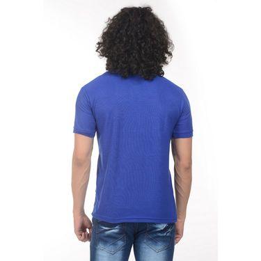 Pack of 2 Plain Regular Fit Tshirts_Ptgdgryb - Grey & Blue