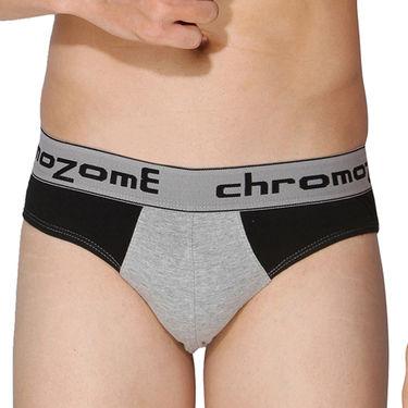 Pack of 3 Chromozome Regular Fit Briefs For Men_10055 - Multicolor