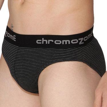 Pack of 3 Chromozome Regular Fit Briefs For Men_10149 - Multicolor