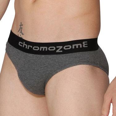 Pack of 3 Chromozome Regular Fit Briefs For Men_10154 - Multicolor