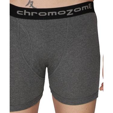 Pack of 3 Chromozome Regular Fit Trunks For Men_10355 - Multicolor