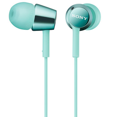 Sony MDR-EX150 In-Ear Earphones Without Mic (Light Blue)