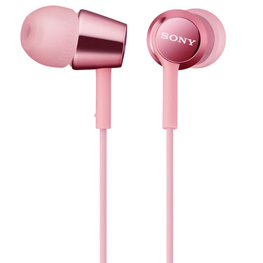Sony MDR-EX150 In-Ear Earphones Without Mic (Pink)
