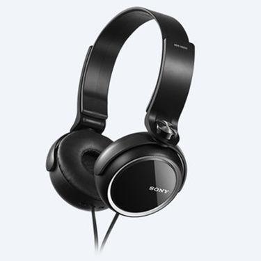 Sony MDR-XB250 Over Ear Headphones (Black)