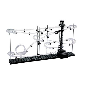 SpaceRail Marble 5000 mm Long Roller Coaster with Steel Balls - 231 Level 1