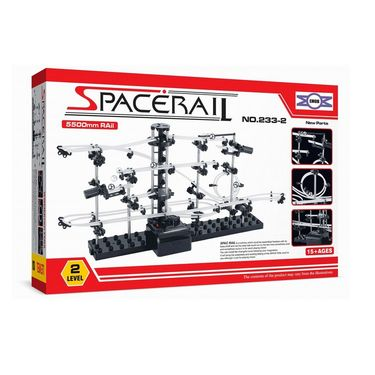 SpaceRail Marble 5500 mm Long Roller Coaster with Steel Balls - 233-Level 2