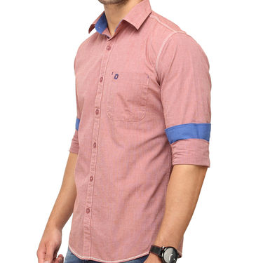 Crosscreek 100% Cotton Shirt For Men_1080304f - Brown