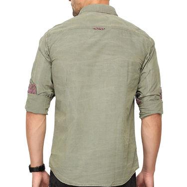 Crosscreek 100% Cotton Shirt For Men_980329f - Olive