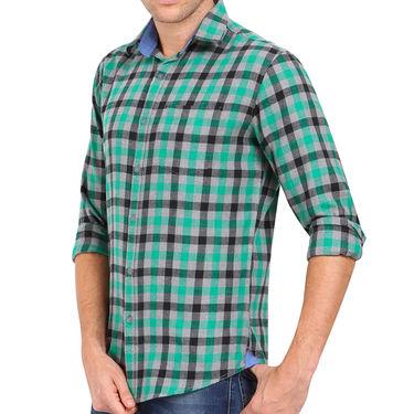 Crosscreek 100% Cotton Shirt For Men_1030312 - Green