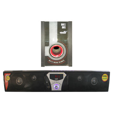 AMOSTA SSB1F02501 Soundbar 4500 W PMPO Soundbar - Black
