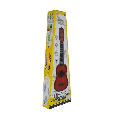 Kids 40cm Party Play Learning Guitar with Mahogany Finishing - Yellow
