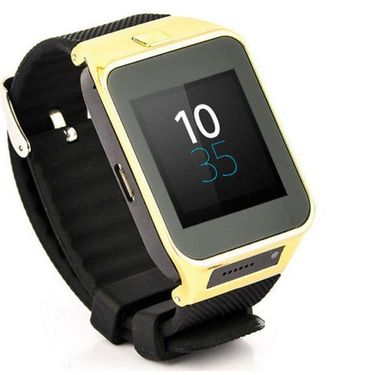 Combo of XElectron S29 Smart Watch Phone (Gold) + 4GB Pen Drive
