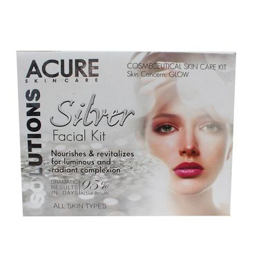 Silver Facial Kit with for Nourishes & Revitalizes for radiant Complextion