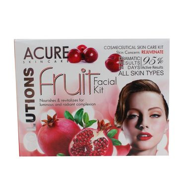 Fruit Facial kit with for Nourishes & Revitalizes for radiant Complextion