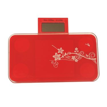 Portable Designer Weighing Scale with LCD Screen Red-03