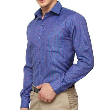 Copperline 100% Cotton Shirt For Men_CPL1191 - Blue