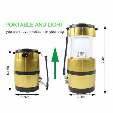 Solar Rechargeable Emergency LED Lantern