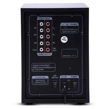 I Kall 7.1 Channel TA-777 Speaker System (Black)