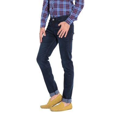 Pack of 3 American Elm Stretchable Slim Fit Jeans_Aemj123 - Black & Blue