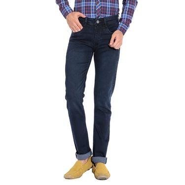 Pack of 3 American Elm Stretchable Slim Fit Jeans_Aemj234 - Black & Blue