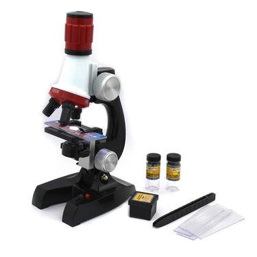 Kids DIY Science Kit of Microscope & Space Bot Toy