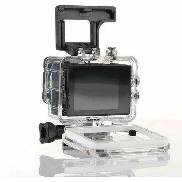 Being Trendy LCD Waterproof Cam Holder Sports & Action Camera (Black)