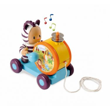 Smoby - Cotoons Pull Tambourine