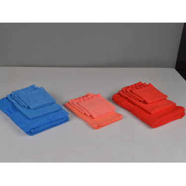 14 Pcs 100% Cotton Towel Set