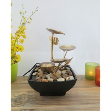 Metal fountain without LED light1412-0523