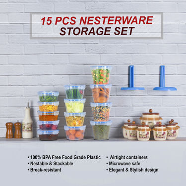 15 Pcs Nesterware Storage Set
